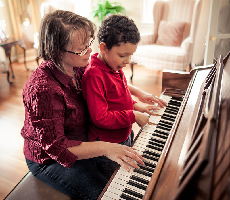therapy using piano